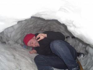 yep ! on a trouvé un igloo juste a côté de la première